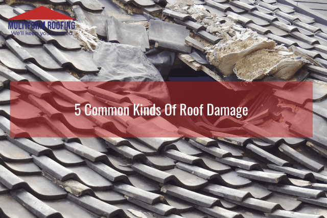 5 Common Kinds Of Roof Damage